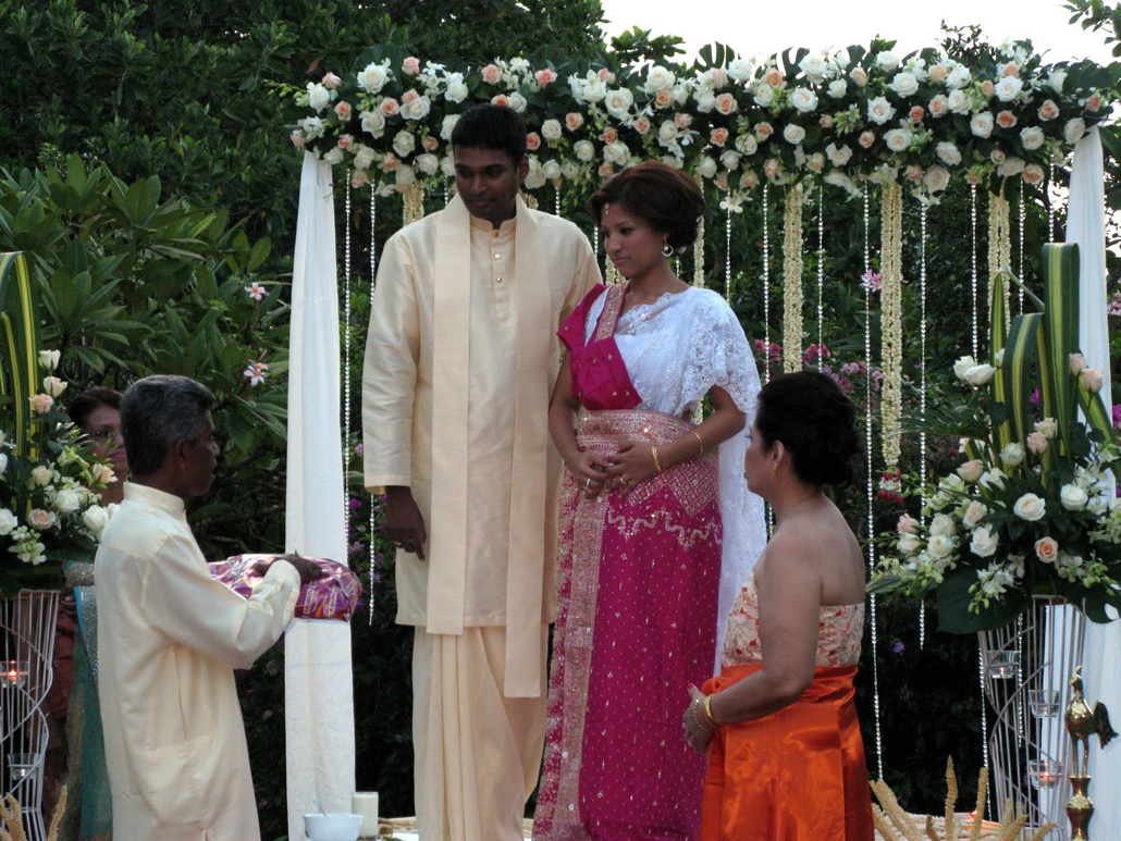 SINGAPORE – Sri Lankan Wedding