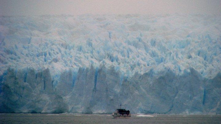 Întâlnirea cu Argentina şi al ei glaciar albastru superb