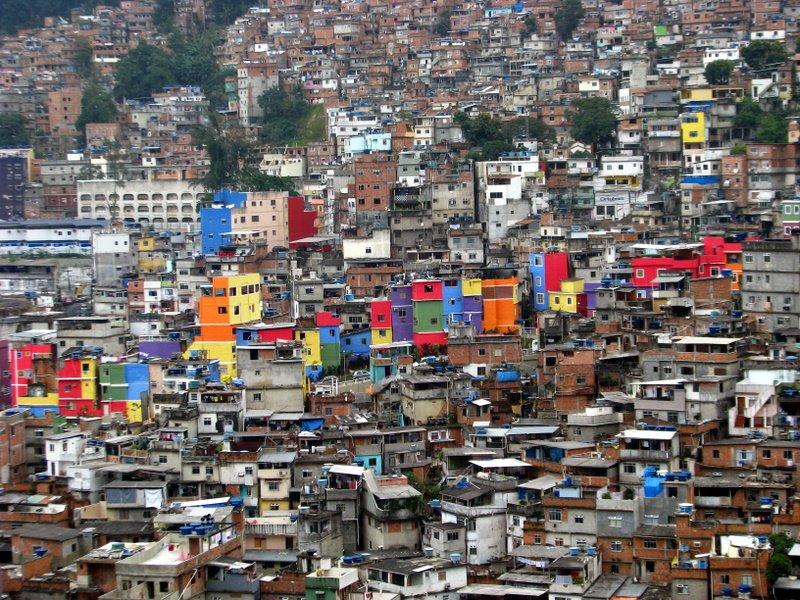 Favelele din Rio de Janeiro (I)