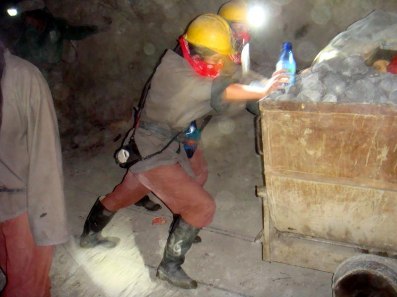 Experienta noastra in mina din Potosi