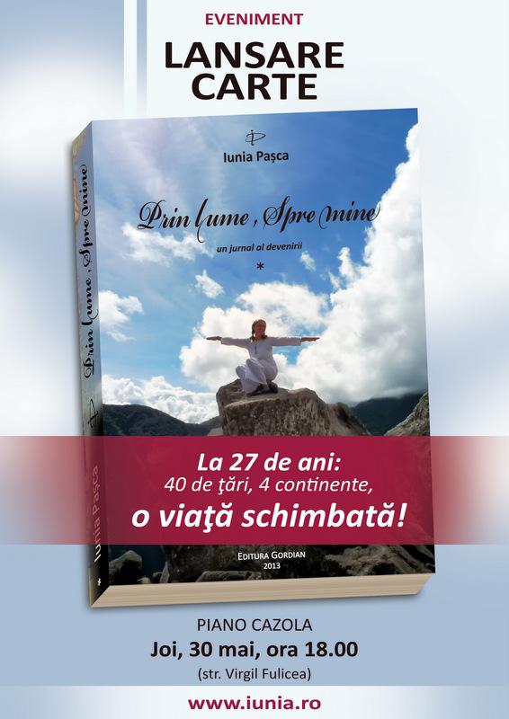 """""""Prin lume, Spre mine"""" la Cluj!!"""